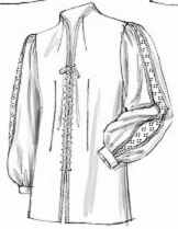 tall cuffed doublet historical roleplaying costume