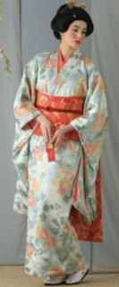 miss kimono historical roleplaying costume