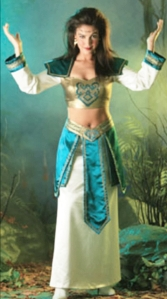 barbarian preistess roleplaying fantasy costume