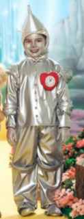wizard of oz tin man roleplaying fantasy costume kids child