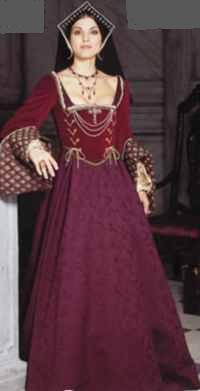 miss renaissance anne boleyn historical roleplaying costume