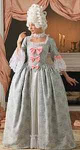 marie antoinette georgian misses historical roleplaying costume