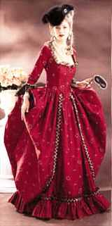 miss georgian ballgown gown historical roleplaying fantasy costume