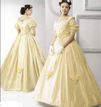 misses ballgown historical roleplaying reenactment fantasy costume