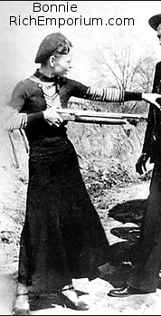 Bonnie Parker costume for Bonnie-and-Clyde