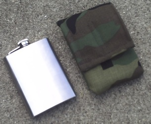 Stainless steel Low Profile Canteen
