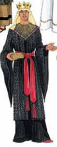mens christmas nativity king roleplaying costume