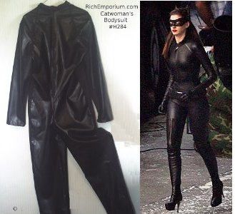 The New Catwoman costume