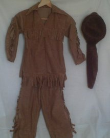 Davy Crockett Costume
