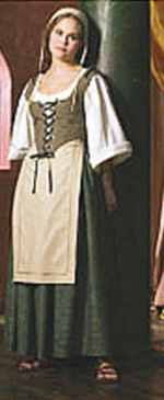 miss renaissance servant girl historical roleplaying costume