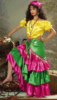 miss gypsy costume roleplaying fantasy costume