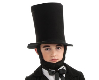 abe lincoln childrens adult roleplaying beard