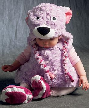 little bear infant toddler costume