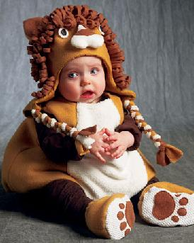 little lion infant todder costume