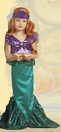 little mermaid childs roleplaying costume