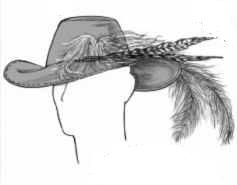 mens musketeer hat 1740