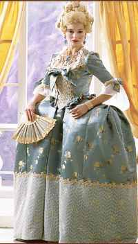 miss marie antoinette gown historical roleplaying fantasy costume