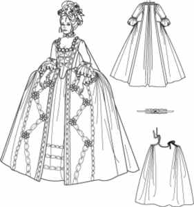 marie antoinette deluxe historical roleplaying fantasy costume