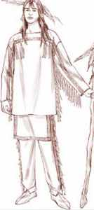 mens american indian roleplaying costume