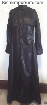 Morpheus costume overcoat matrix
