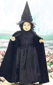 wizard of oz wicked witch of the west child toddler roleplaying fantasy costume