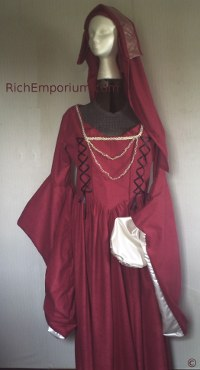 Renaissance gown Historical clothing dress Anne Boleyn costume
