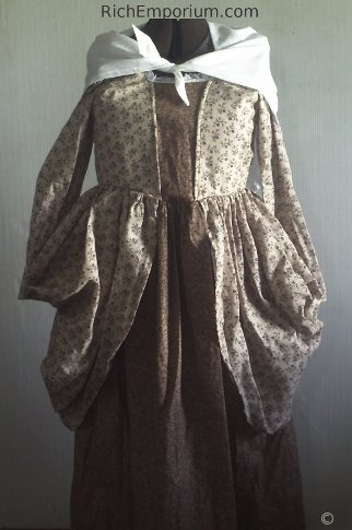 Colonial Daydress historical clothing