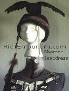 Native American Indian Shaman Headdress hat