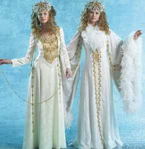 snow queen roleplaying fantasy halloween costume