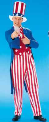 uncle sam patriotic roelplaying fantasy costume