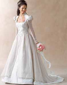 miss wedding gown historical roleplaying costume