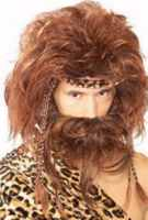 wig caveman monty python roleplaying fantasy costume accessory